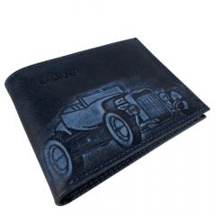 Carteira Masculina Badana Azul Vintage Ref.: K737 222 424