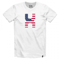 Camiseta Masculina TXC Custom Branco Ref.: 1001