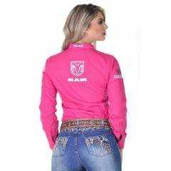 Camisa Radade Feminina Pink Bordada Ram Lançamento 2020