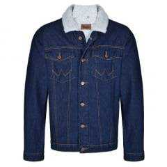 Jaqueta Jeans Masculina Wrangler Forrada  Ref: WM9706