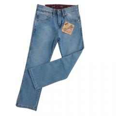 Calça Jeans Wrangler Infantil Delavê Elastic Waistband