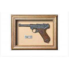 Quadro de Arma Karin Grace - Luger P -08