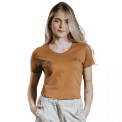 Camiseta TXC Extra Feminino Marrom Ref.: 4828