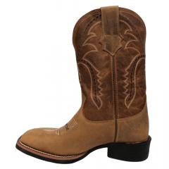 Bota Texana Country Masculina Texas Rodeo Bico Quadrado