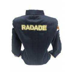 Camisa Radade Bordada Feminina Azul Marinho Brands