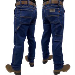 Calça Jeans Masculina Carpinteira Race Bull Stone