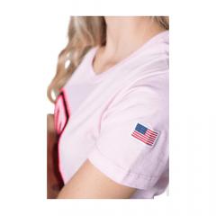 Camiseta Feminina TXC Custom Rosa Ref.: 4905
