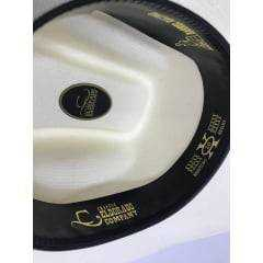Chapéu Country Eldorado Branco Aba 10 - 0005