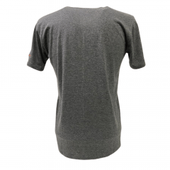 Camiseta Masculina Ox Horns Cinza Básica Ref: 8009