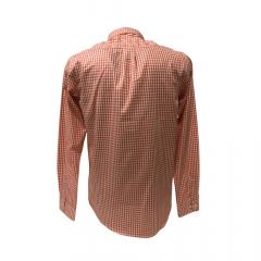Camisa Country Masculina TXC Xadrez Laranja