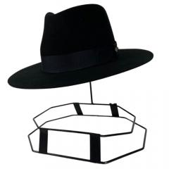 Chapéu Social Cury Indiana Jones - Preto Aba 7 Ref.: Pl16