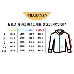 Camisa Masculina Bordada Radade Preta Ram Team