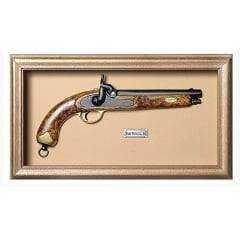Quadro de Arma Karin Grace -  Belgie Pistol Cal. .60