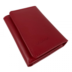 Carteira Feminina Badana Vermelha Sanil Ref.: M200 033 902