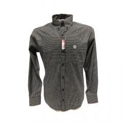 Camisa Masculina Classic Xadrez Preto Ref: 1911