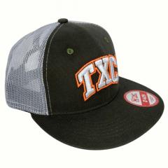 Boné TXC Unissex Verde Musgo/Branco Logo Laranja Ref.: 11172C