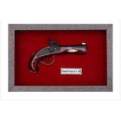 Quadro de Arma KG - Philadelphia Derringer cal.41.1852