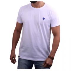 Camiseta Masculina Sacudido's Básica Branco Ref.: CB040SCD