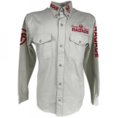 Camisa Masculina Radade Bege Clara MLB Riding - Ref: 0047