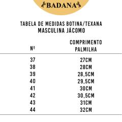 Bota Texana Country Masculina Jácomo Bico Redondo Fóssil Tabaco/Napa Marfim - Ref.4121/GPM