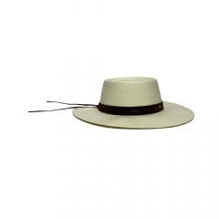 Chapéu Marcatto Gaúcho Palha Marfim Aba 9