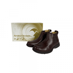 Botina Masculina Anatomic Gel Chocolate Toast Floater